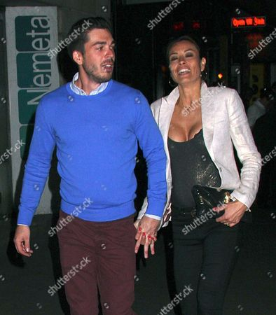 Jack Cockings and Melanie Sykes