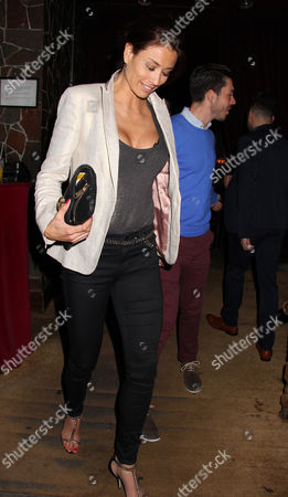 Stock Image of Melanie Sykes and Jack Cockings