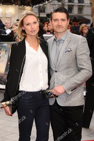 Tom Chambers and wife Clare Harding