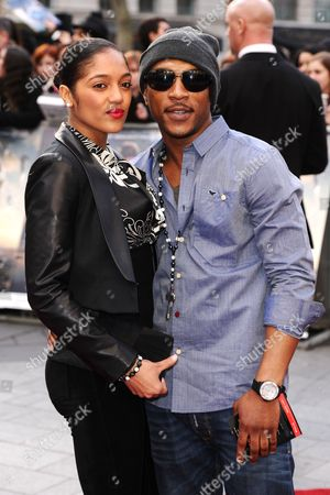 Natalie Williams and Ashley Walters