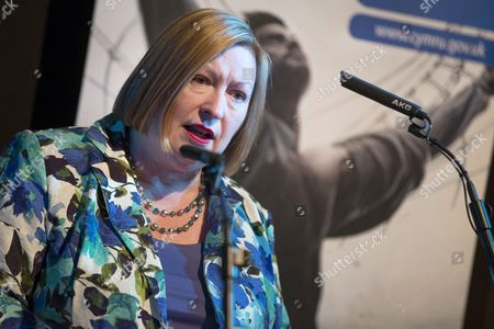 Stock Picture of Edwina Hart, MBE, Minister for Economy, Science and Transport