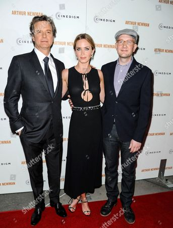 Colin Firth, Emily Blunt and Dante Ariola