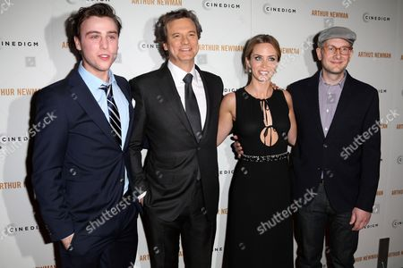 Stock Picture of Sterling Beaumon, Colin Firth, Emily Blunt and Dante Ariola