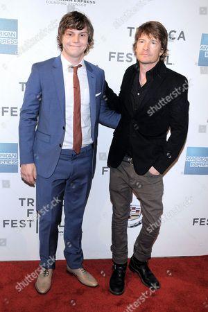 Evan Peters and Scott Coffey