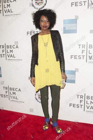 Editorial photo of 'Almost Christmas' film premiere, Tribeca Film Festival, New York, America - 18 Apr 2013