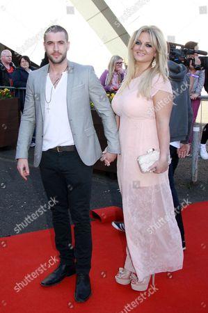 Shayne Ward and girlfriend Faye McKeever