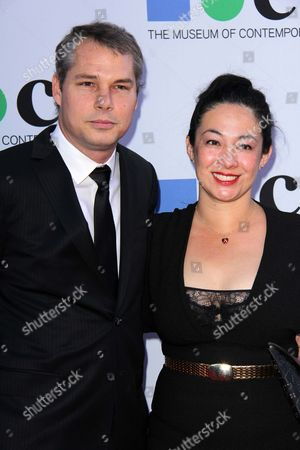Shepard Fairey and Amanda Fairey