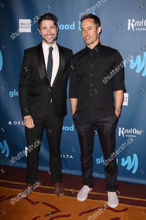 Stock Image of Matt Dallas and Blue Hamilton