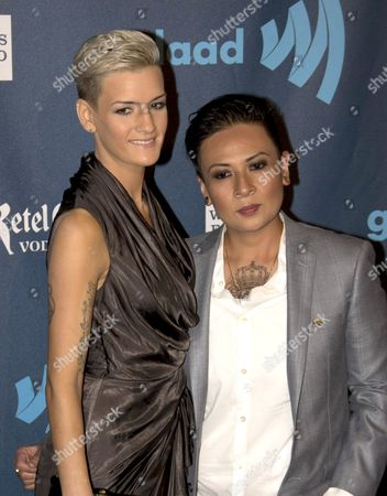 Editorial picture of GLAAD Media Awards, Los Angeles, America - 20 Apr 2013