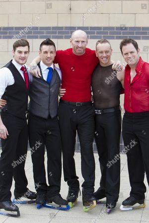 Stock Photo of Matt Lapinskas, Colin Ratushniak, Gareth Thomas, Dan Whiston, Kyran Bracken