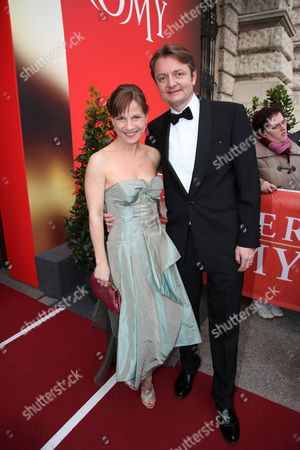 Stock Picture of Kristina Sprenger and guest