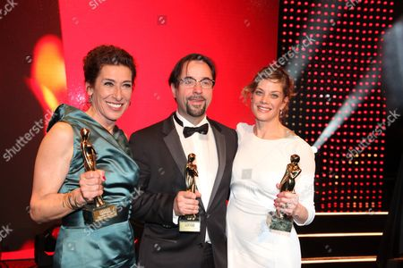 Jan Josef Liefers, Adele Neuhauser, Marie Baumer