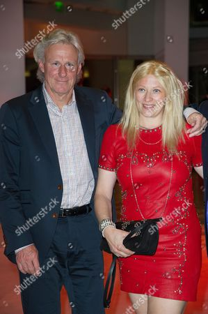 Stock Photo of Bjorn Borg and and his wife Patricia Ostfeldt