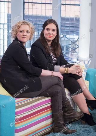 Lorna Watson and Ingrid Oliver
