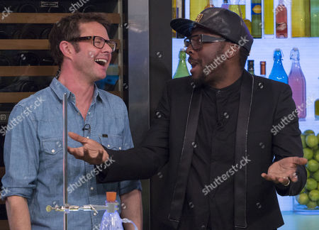 Stefan Gates and Will.i.am