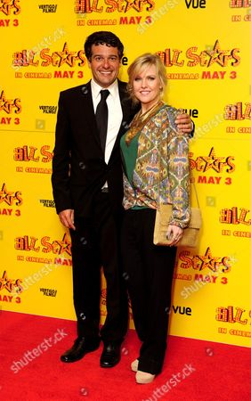 Ashley Jensen and Ben Gregor