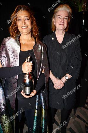 Marjorie Scardino and Dame Zaha Hadid