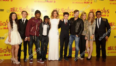 Hanae Atkins, Dominic Herman-Day, Ashey Walters, Akai, Kimberley Walsh, Theo Stevenson, Kevin Bishop, Ashley Jensen, Amelia Clarkson and Gamal Toseafa