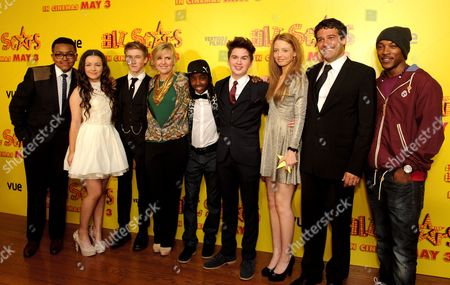 Gamal Toseafa, Hanae Atkins, Dominic Herman-Day, Ashey Walters, Akai, Theo Stevenson, Ashley Jensen, Amelia Clarkson, Ben Gregor and Ashley Walters