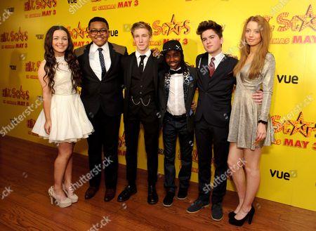 Editorial image of 'All Stars' film premiere, London, Britain - 22 Apr 2013
