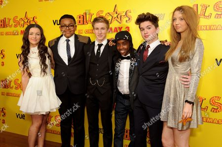 Stock Photo of Hanae Atkins, Gamal Toseafa, Dominic Harman-Day, Theo Stevenson and Amelia Clarkson