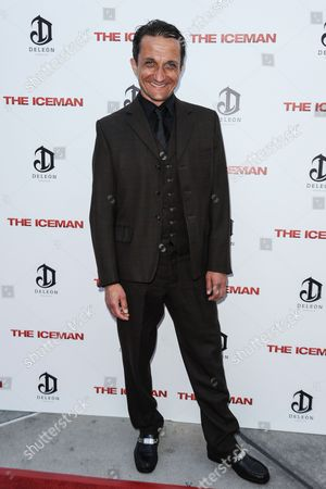 Editorial image of 'The Iceman' film premiere, Los Angeles, America - 22 Apr 2013