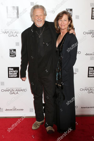 Stock Photo of Lisa Kristofferson and Kris Kristofferson