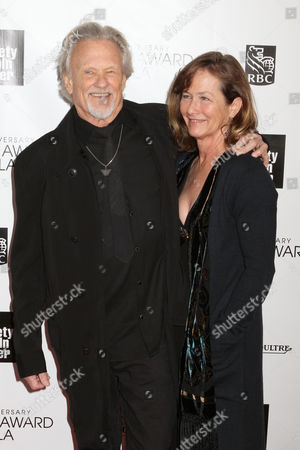 Lisa Kristofferson and Kris Kristofferson
