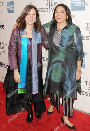 Lydia Dean Pilcher and Mira Nair