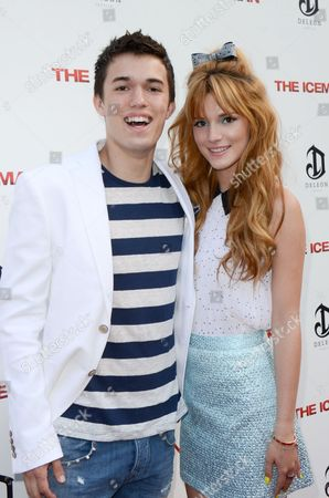 Stock Picture of Remy Thorne and Bella Thorne