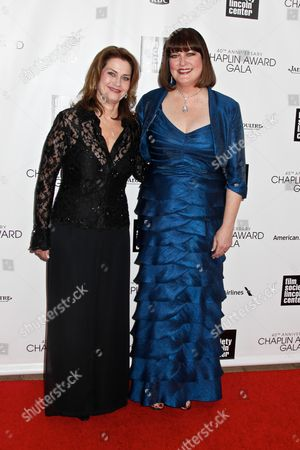 Stock Picture of Ann Hampton Callaway (right) and partner Kari Strand (left)