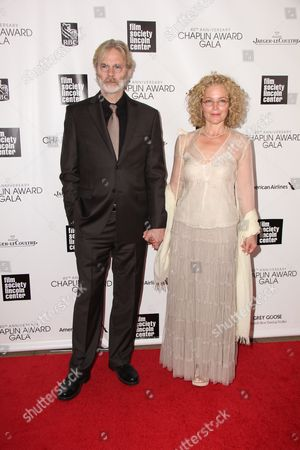 Amy Irving with husband Kenneth Bowser