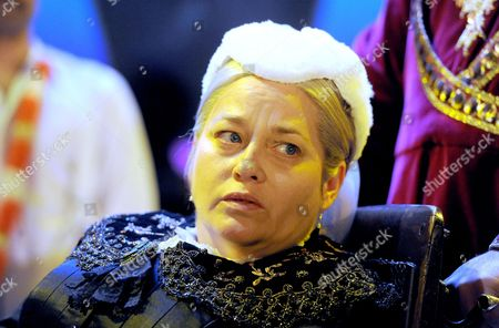 Beatie Edney as Queen Victoria