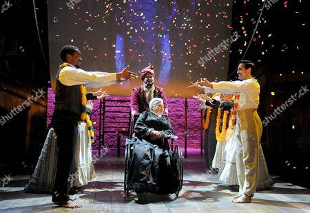 Tony Jayawardena, Beatie Edney as Queen Victoria