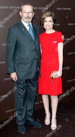 Patrick Louis Vuitton and Sarah Biasini