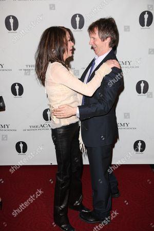 Lara Flynn Boyle and Dana Carvey