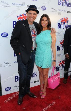 Vinnie Jones and Tanya Jones