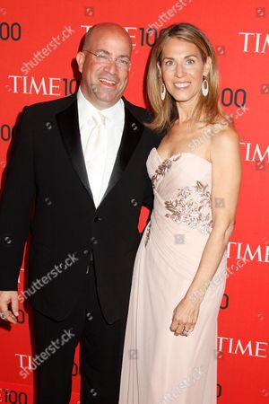 Jeff Zucker (Pres. CNN Worldwide) and wife Caryn Zucker