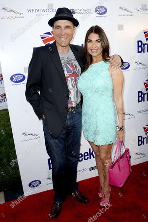 Vinnie Jones and wife Tanya Jones
