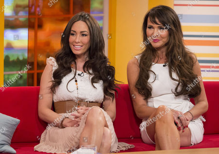 Stock Photo of Laura Summers and Lizzie Cundy