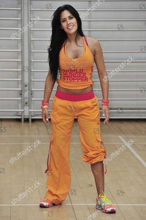 Editorial picture of Launch of Zumba Fitness Global Charity Initiative, Great Calorie Drive, London, Britain - 24 Apr 2013