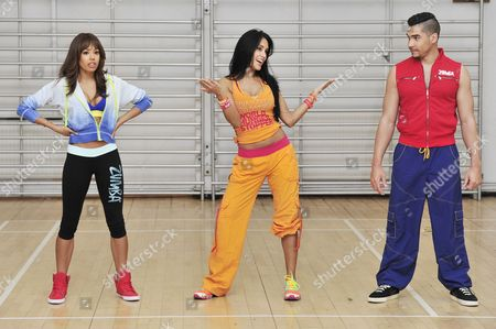 Editorial photo of Launch of Zumba Fitness Global Charity Initiative, Great Calorie Drive, London, Britain - 24 Apr 2013