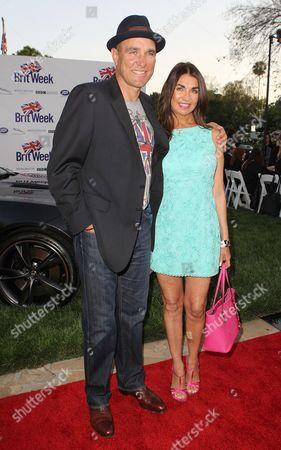 Stock Picture of Vinnie Jones and Tanya Jones