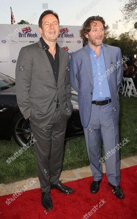 Jason Isaacs and Gary Love