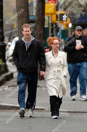 Randy Bick and Kathy Griffin