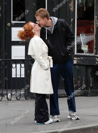 Kathy Griffin and boyfriend Randy Bick
