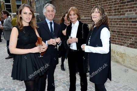 Stock Picture of Guests and Cheryl Cohen-Greene