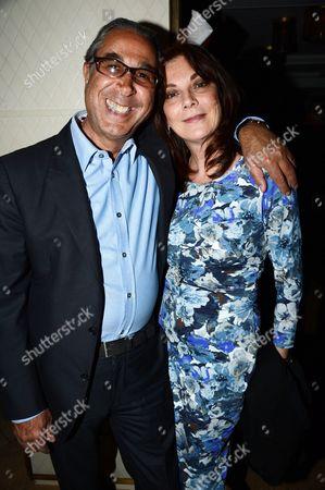 Nasser Khalili and Susan Young