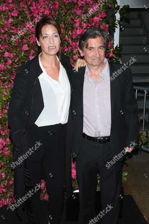 Stock Image of Anna Bingemann and Griffin Dunne
