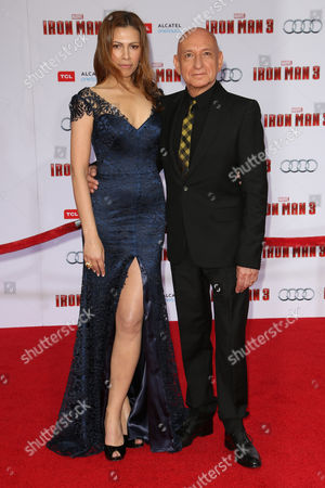 Daniela Lavender and Sir Ben Kingsley